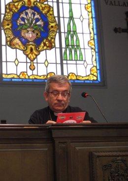 Luis Javier Argüello, obispo auxiliar de Valladolid.