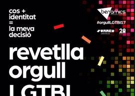 'Revetlla' del Orgullo LGTBI 2017 en Palma, este miércoles en la Plaza de Cort