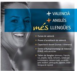 La Universidad Alicante ofrece mas de 300 asignaturas en valenciano y 500 en otras lenguas el curso 2017/2018