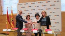 Gobierno de Aragón y fundaciones Ibercaja y CAI colaboran en el primer Congreso de Voluntariado autonómico