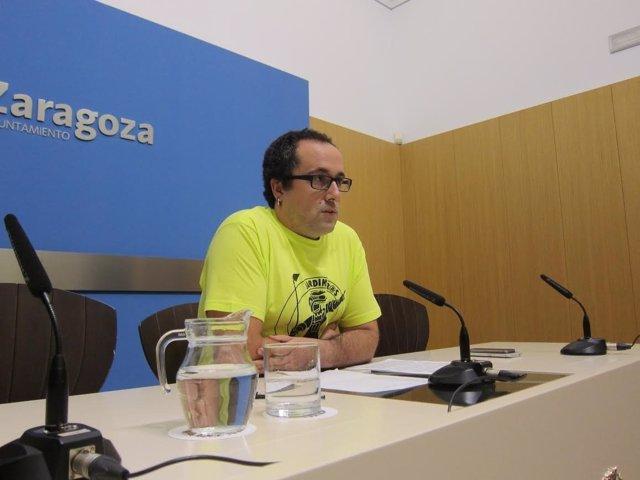 El consejero municipal de Servicios Públicos y Personal, Alberto Cubero.