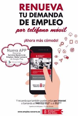 Publicidad de la nueva app