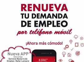La tarjeta de demanda de empleo se puede renovar también por aplicación móvil