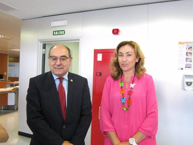 Consejeros salud, Jon Darpón y María Martín