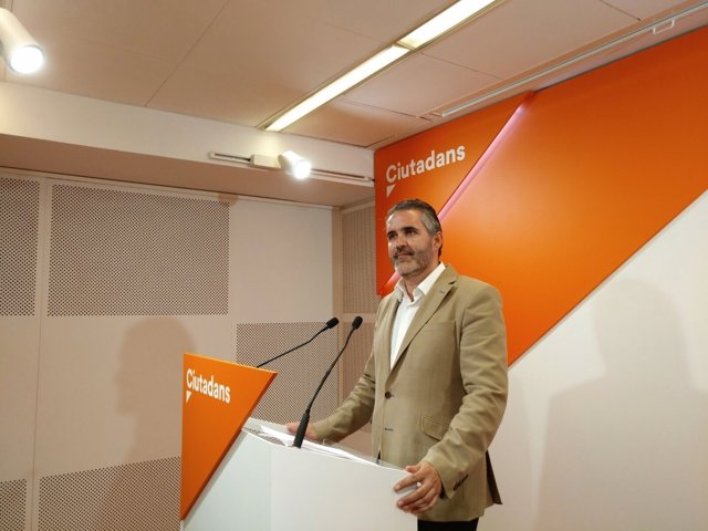 El diputado de Cs en el Parlament Jorge Soler
