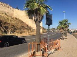 La Policía Local de Badajoz instalará un radar fijo en la Ronda de Circunvalación