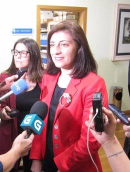 Conselleira de Medio Rural, Ángeles Vázquez