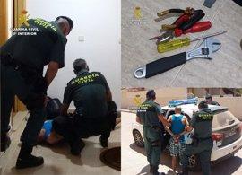 Detenido un individuo por cometer una treintena de robos en viviendas la comarca del Mar Menor y Alicante
