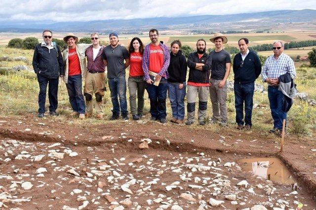 Soria: el equipo del yacimiento de Renieblas