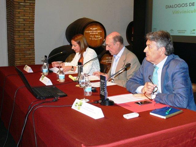 Diputación en las jornadas vitivinícolas