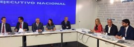 El presidente de la Comunidad y coordinador general del PPRM asiste al Comité Ejecutivo del PP nacional