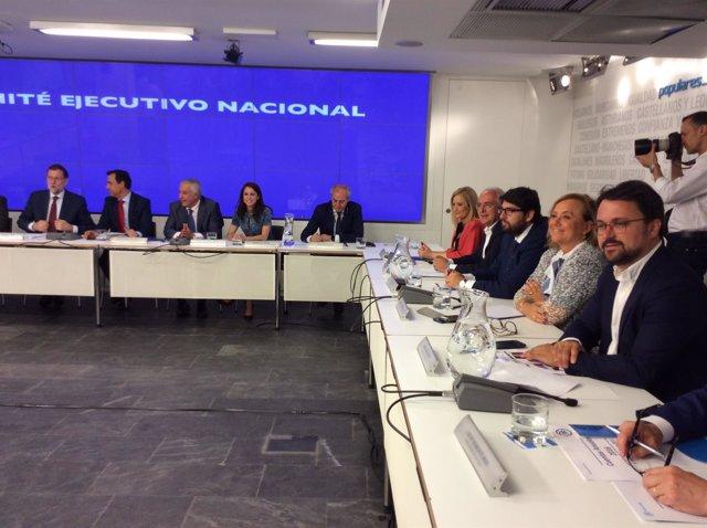 Mercedes Fernández en el Comité Ejecutivo Nacional del PP