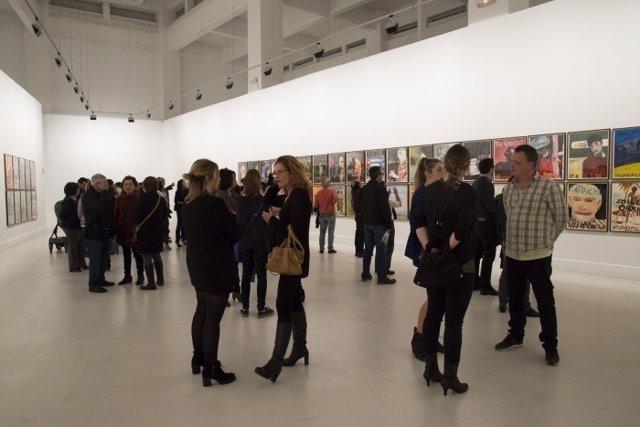 Cac málaga arte centro contemporáneo gente público visitas