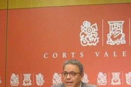 """Mata (PSPV) dice que Rajoy """"debería hoy llevar el cheque a Feria Valencia"""" para pagar el congreso de 2008"""