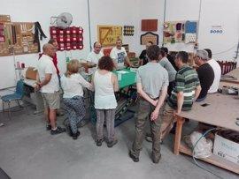 La Escuela de la Madera pone en marcha en Villa del Río (Córdoba) un curso de técnicas de tapizado dirigido a profesores