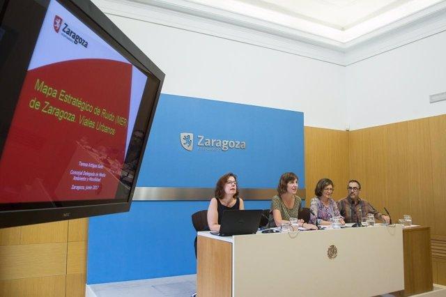 Presentación del Mapa Estratégico del Ruido de Zaragoza.