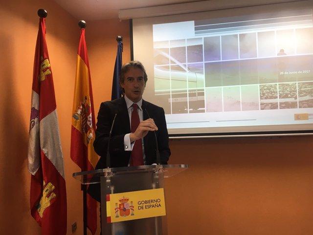Burgos: el Ministro de Fomento