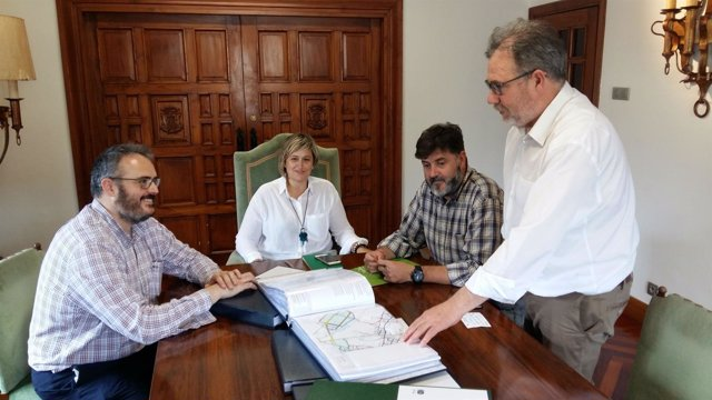 Reunión de presentación del documento inicial del PGOU