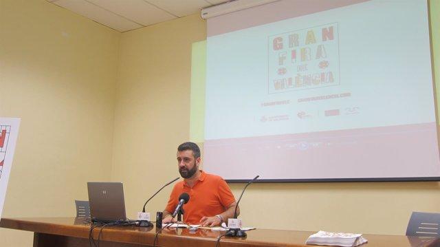 Concejal de Cultura Festiva, Pere Fuset