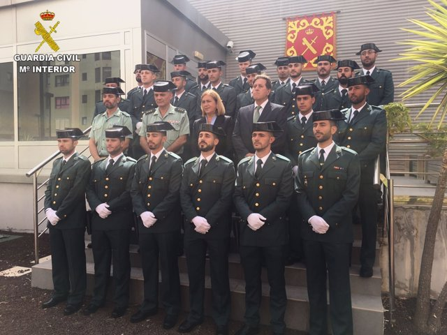 La Guardia Civil incorpora 42 guardias alumnos a la Comandancia de Las Palmas