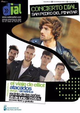 Cartel del concierto Dial San Pedro del Pinatar