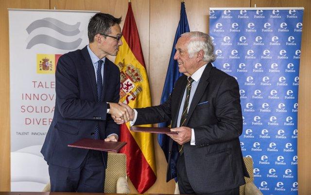 Forénica y Marca España renuevan su colaboración para la sostenibilidad de las e