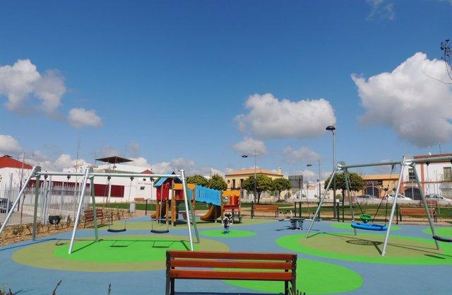 Parque infantil de Salteras.
