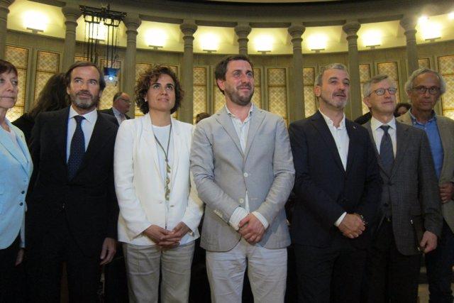 G.Rodés, Dolors Montserrat,A.Comín,J.Collboni,Joan Massagué,Bonaventura Clotet