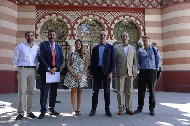 Sevilla 26/06/2017 El Delegado De Hábitat Urbano, Cultura Y Turismo, Antonio Muñ