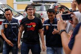 Imputado por desacato a la Junta Militar un activista opositor en Tailandia