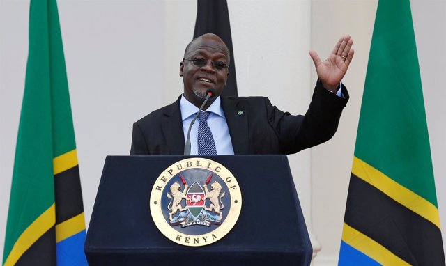Presidente de Tanzania, John Magufuli