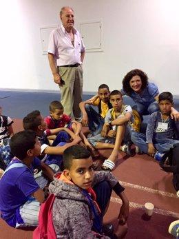 Nota Y Foto Llegada Niños Saharauis