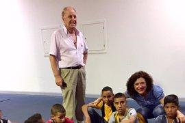 Los 143 niños saharauis que pasarán el verano en la provincia de Huelva comienzan a vivir sus 'vacaciones en paz'