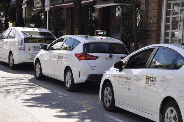 Taxis en Sevilla.