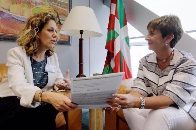 La consejera de Desarrollo Económico, Arantza Tapia
