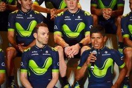 Nairo Quintana y Valverde comandarán el Movistar en el Tour