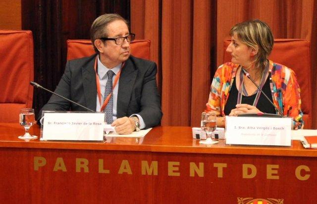 Empresario Javier de la Rosa, Alba Vergés (JxSí)