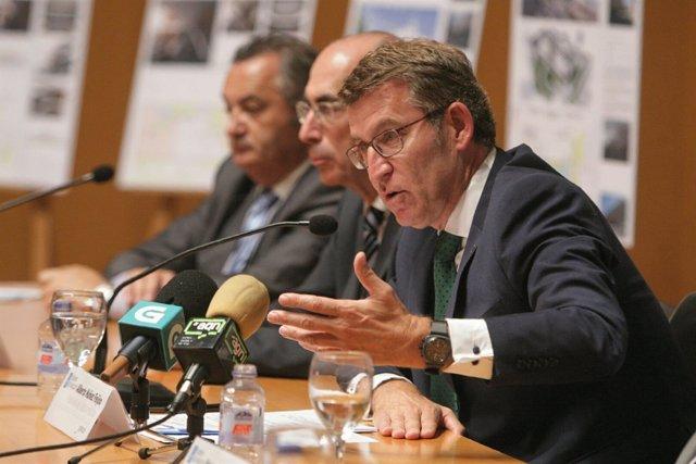 Feijóo anuncia en Lugo el primer centro integral de salud de Galicia