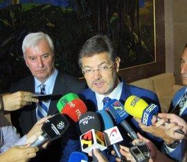 """El ministro de Justicia cree """"casi ofensivo"""" achacar el silencio de Bárcenas en el Congreso a un pacto con el PP"""