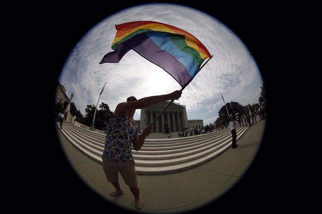 Defensor del matrimonio homosexual en Estados Unidos