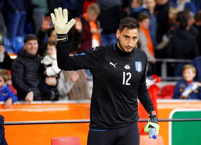 Gianluigi Donnarumma Italia selección italiana