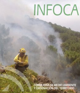 Infoca incendio forestal benahavís junio 2017 bombero