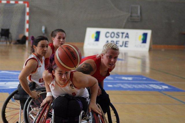Selección española baloncesto femenino Europeo Silla de Ruedas  Gran Bretaña