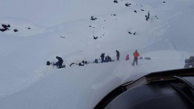 Rescate de excursionistas extraviados en Chile