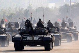 Las tropas birmanas, en máxima alerta por posibles ataques de la comunidad rohingya en Rajine