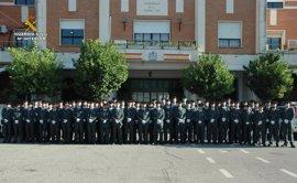 Un total de 62 guardias civiles se incorporan en fase de prácticas a la provincia de Sevilla