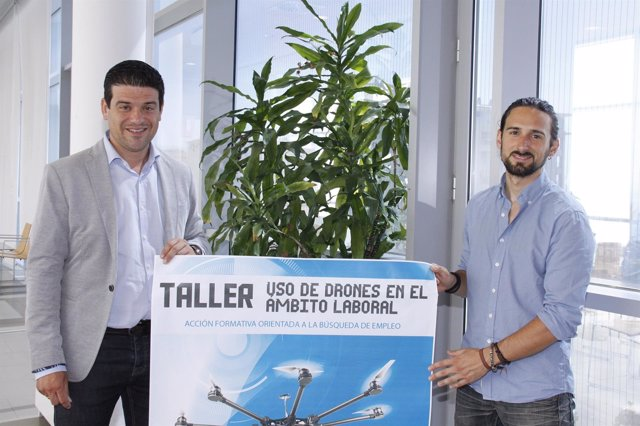 Taller de drones organizado por la Diputación de Málaga