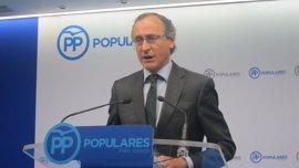 """Alonso cree que no hay """"un pacto de silencio"""" con Bárcenas, y que la oposición quiere hacer sufrir al PP este mandato"""