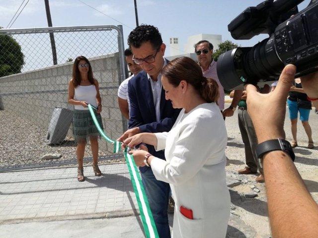 Diputación inaugura una obra del Plan Invierte en Barbate
