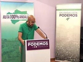 """Podemos Andalucía exige caminar hacia el """"blindaje integral"""" del entorno natural tras el incendio de Moguer"""